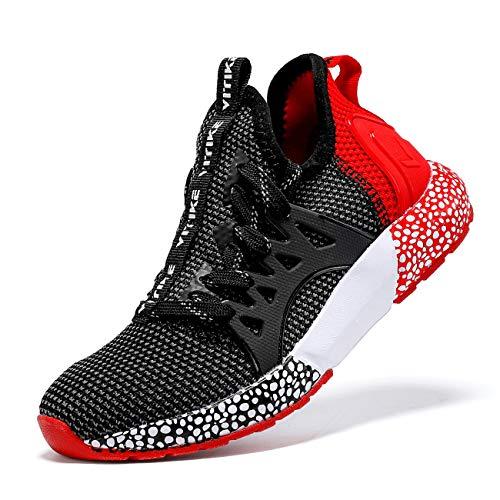 VITUOFLY Boys Sneakers Kids Running Shoes Girls Mesh Fitness Shoe Indoor Training Sneaker...
