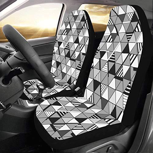 Grafik Dreieck Modernen Stil Benutzerdefinierte Neue Universal Fit Auto Drive Autositzbezüge Schutz...