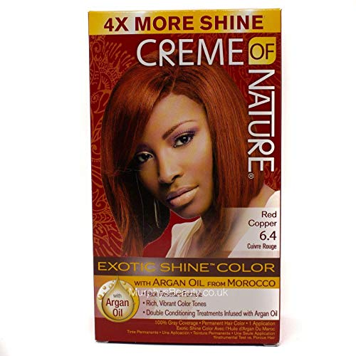 Creme of Nature Coloration Permanente Nourrissante Red Cooper 7.64