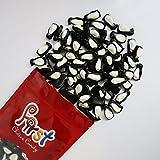 Gummy Peach Penguins Black & White Gummi 2 Pound Resealable Bag by FirstChoiceCandy