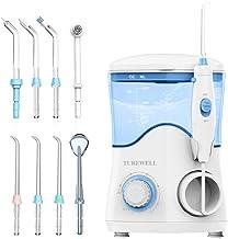 Water Flosser, Dental Oral Irrigator for Teeth/Braces,10 Pressure Levels Water Pick Teeth..