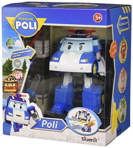 Rocco Giocattoli 83094 - Robocar Poli Poli Personaggio Trasformabile con Luci