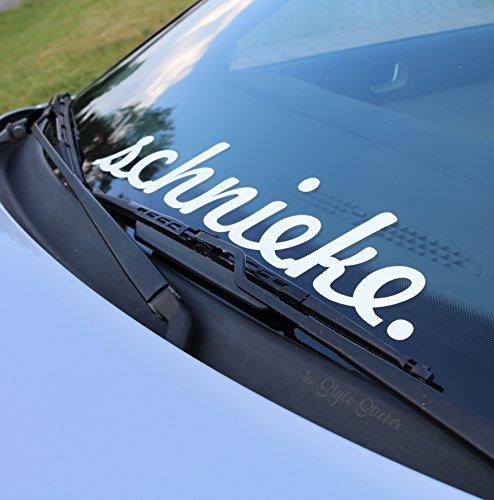 Schnieke Frontscheiben-Autoaufkleber Static Low Golf MK Tuning Sticker Style Decal Car