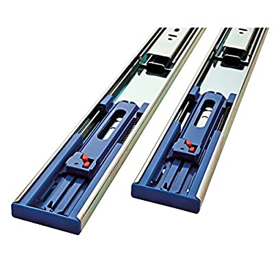 LIBERTY 941405 Soft-Close Ball Bearing Drawer Slide, 14-Inch, 2-Pack