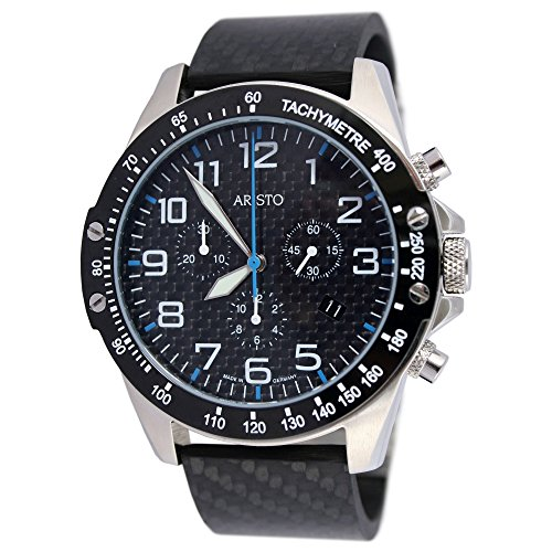 Aristo quarzo Timing Carbon Trophy – Cronografo Blu 4h157b
