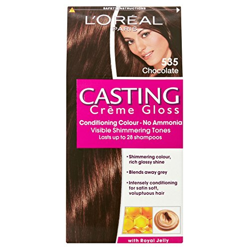 3 x L'Oreal Paris Casting Creme Gloss Conditioning Colour 535 Chocolate