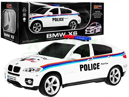 BSD RC Voiture télécommandée X6 Voiture de Police 1:14