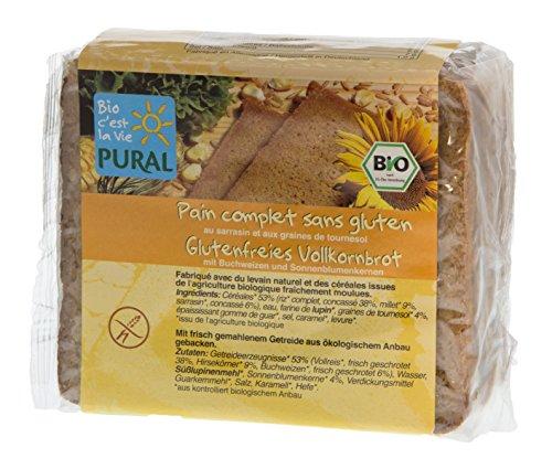 Pural Buchweizen-Sonnenblume Vollkorn-Brot, 375 g
