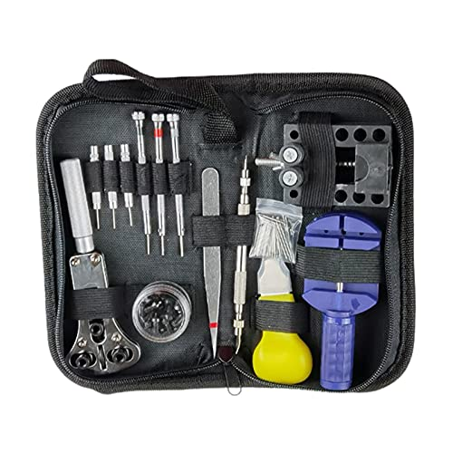 SM SunniMix 144tlg Watch Tool Set Kit de Reparación Profesional Incl. Batería para