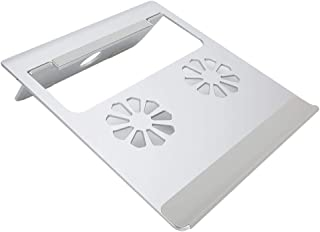 Garosa Almohadilla de enfriamiento para computadora portátil con Base de aleación de Aluminio Soporte de refrigeración para computadora Plegable para Soporte de radiador de computadora Personal