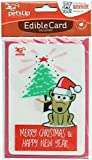 Surrey Feed Edible Christmas Card for Dogs - Rawhide