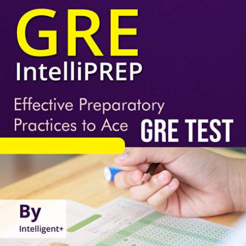 GRE IntelliPREP audiobook cover art