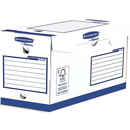 Fellowes Heavy Duty Banker Box arkivlåda A4 storlek Dos de 20cm Vit/blå