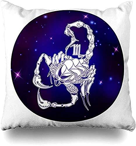 SSHELEY kussensloop schorpioen sterrenbeeld horoscoop achtergrond symbool tattoo symbolen kussensloop kussensloop