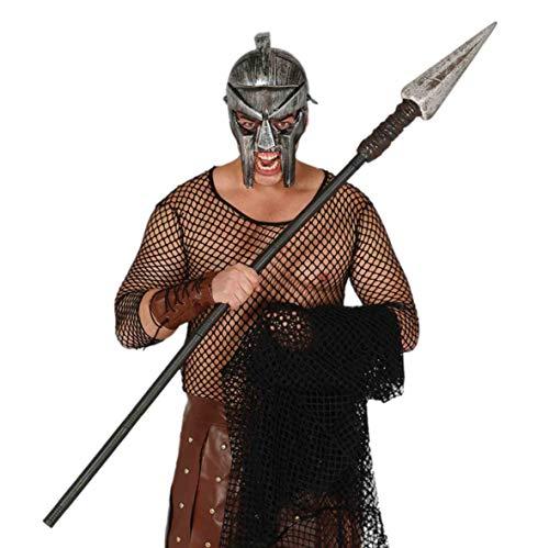 Lancia romana smontabile in plastica soldato greco Si divide in 5 pezzi Lunghezza: 150 cm