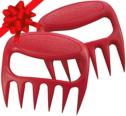 The Original Bear Paws Shredder Claws - Easily Lift, Handle, Shred, and Cut Meats - Essential...