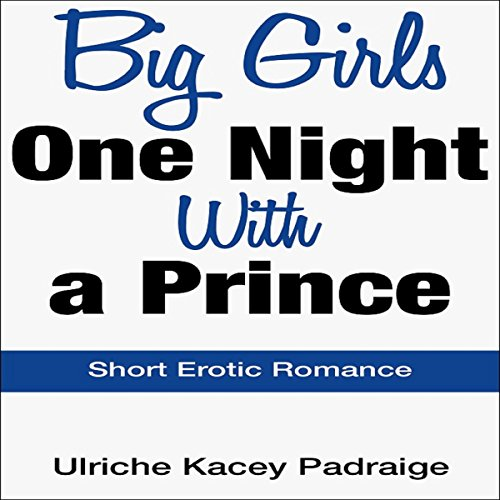 Big Girls One Night with a Prince audiobook cover art