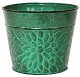 Robert Allen Laurel Series Metal Planter Flower Pots
