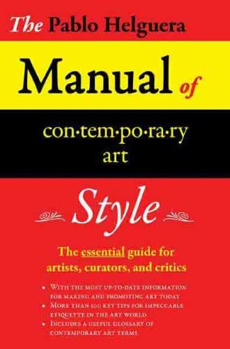 MANUAL OF CONTEMPORARY ART STYLE (English Edition)