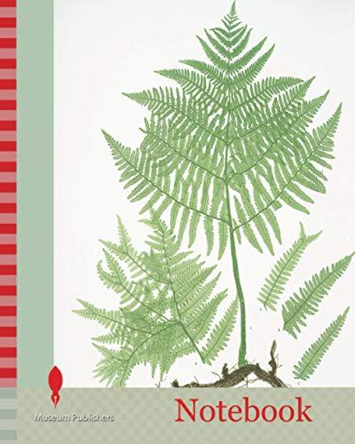 Notebook: Pteris aquilina. The common brakes, or Bracken, Bradbury, Henry Riley (1821-1887), (Illustrator), ferns of Great Britain and Ireland
