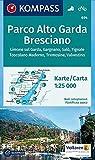 KOMPASS Wanderkarte Parco Alto Garda Bresciano: Wanderkarte mit Radrouten. GPS-genau. 1:25000: Wandelkaart 1:25 000 (KOMPASS-Wanderkarten, Band 694)