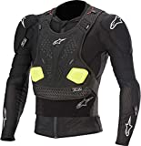Alpinestars Men's Bionic Pro V2 Protection Motorcycle Jacket, Black/Yellow, Large