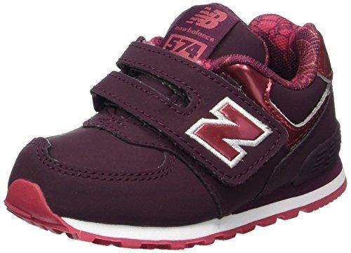 New Balance New Balance, Unisex-Kinder Sneaker, Rot (Burgundy), 23 EU (6 UK Child)