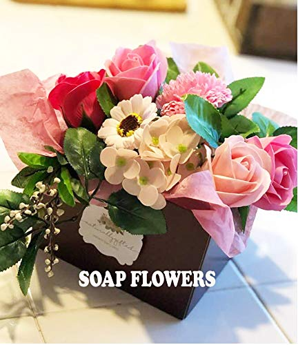 Amazon Com Birthday Gift Soap Flowers Sister Gift Mom Gift Friend Gift Birthday Gift For Her Housewarming Gift Anniversary Gift Best Friend Gift Handmade