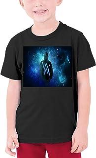 夏9~15歳の半袖Tシャツ 音楽Alan Walker 人気の サンシャインボーイ半袖Tシャツ
