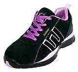 Groundwork Zapatillas de Seguridad para Mujer, Color Morado, Talla 38 EU / 4 UK
