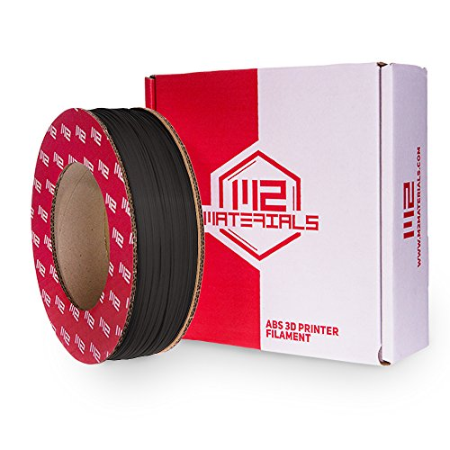 M2 Materials ABS Filament 56ci for Stratasys Dimension 1200, Black