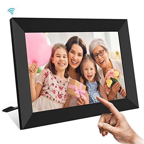 UCMDA WiFi Digital Photo Frame, 10.1 Inch Smart Cloud Digital Picture...