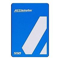 Acclamator 内蔵SSD 256GB 2.5インチ ソリッドステートドライブ TLC採用3D Nand SATA3 6Gb/s PS4動作確認済