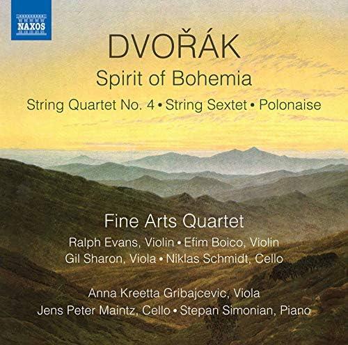 Fine Arts Quartet, Anna Kreetta Gribajcevic & Jens Peter Maintz