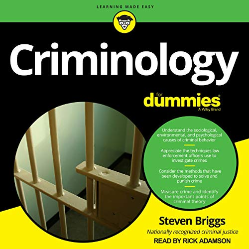 Criminology for Dummies cover art