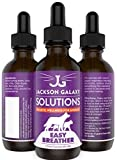 Jackson Galaxy: Easy Breather (2 oz.) - Pet Solution - Detoxify and Discharge Toxins - Can Aid with Respiratory Issues (Allergies, Asthma,etc.) - All-Natural Formula - Reiki Energy