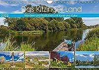 Das Kitzinger Land - Wandern und Radfahren mit Kunst und Kultur (Wandkalender 2022 DIN A4 quer): Das Kitzinger Land im Rhythmus der Jahreszeiten (Monatskalender, 14 Seiten )
