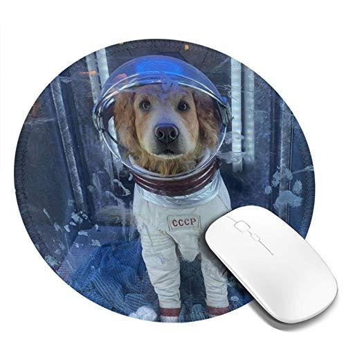DPQZ Alfombrilla de ratón redonda antideslizante con base de goma, alfombrilla para ratón para videojuegos, portátil, Coumputer