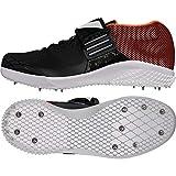Adidas Adizero Javelin, Zapatillas de Atletismo Unisex Adulto, Negro (Negbas/Ftwbla/Naranj 000), 49 1/3 EU