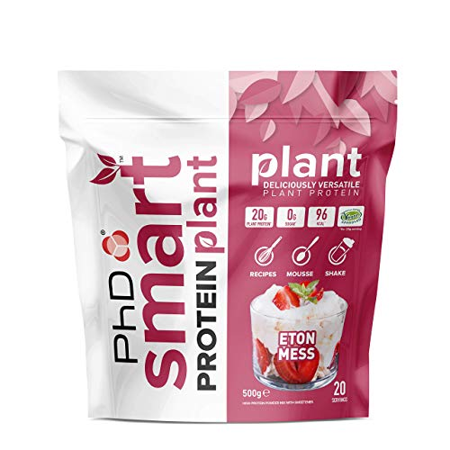 PhD Smart Protein Plant, Vegan approved Plant based protein Powder (Eton Mess) 20 Servings