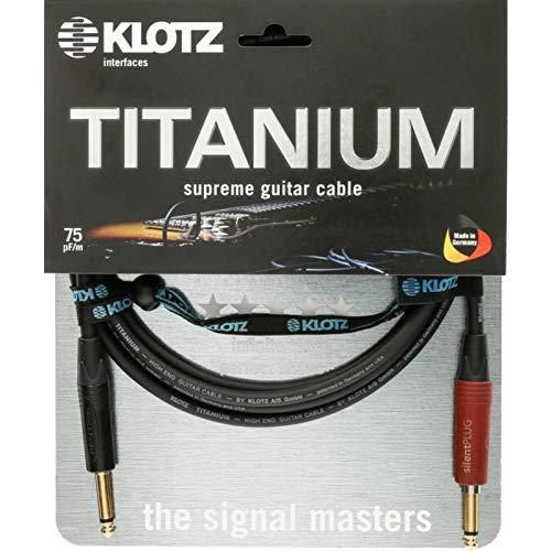 Klotz titanio Cable de guitarra 9 m