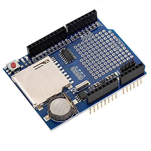 AZDelivery Modulo Data Logger Logging Shield Data Recorder per Arduino e con eBook