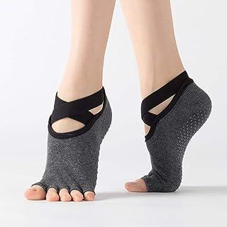 Ladies Professional Non-Slip Five Finger Yoga Pilates Yoga Socks Sports Socks