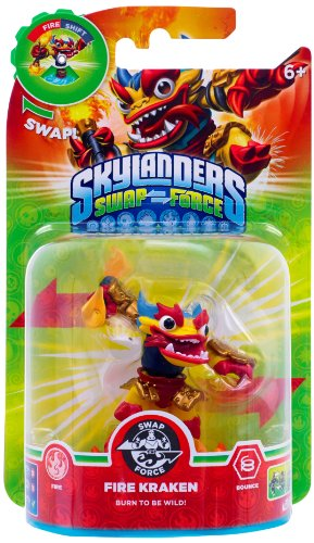 Skylanders Swap Force - Single Character - Fire Kraken