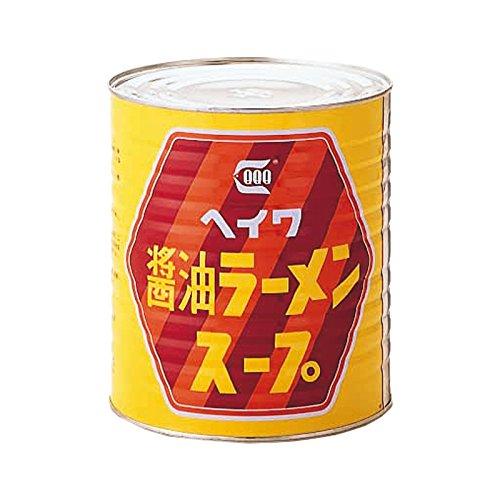 平和食品工業 醤油ラーメンスープ 3.3kg缶×6