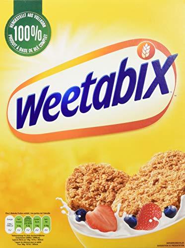 Weetabix Original Vollkorn - Frühstückscerealien - Vollkorncerealie - Ballaststoffreich, Zuckerarm, Fettarm - 7er Pack (7 x 430 g), 3.10 kg