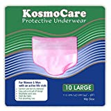 KosmoCare Disposable Protective Underwear- Large (20 Count)…