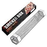 MUUM SZBYOO - Tubo de ahumado, caja de acero inoxidable, pellet de madera, para humo...