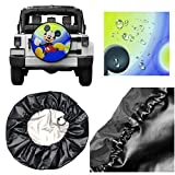 Spare Tire Cover Mickey Mouse Cartoons Universal Waterproof Dust-Proof Wheel Covers