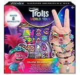 Trolls World Tour Girls Charm Bracelet Making Crafts Set - Makes 8 Bracelets